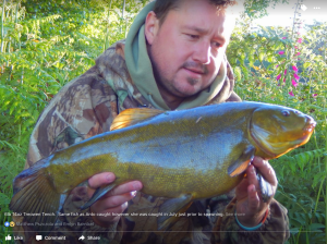 Record tench from atreowen