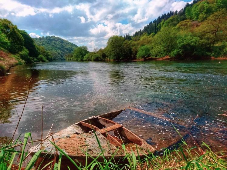 Boat on Wye